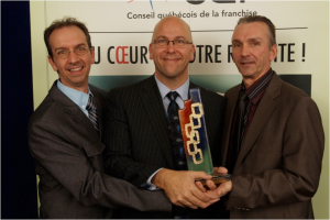 2008 - Franchisor of the year, large network