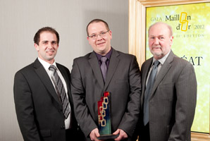 2012 - Maillon d'or - Young entrepreneur franchisee under 40 years old