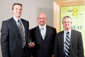 2012 - Maillon d'or Franchiseur - Innovation pour son produit Conversense